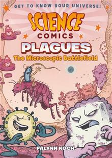 SCIENCE COMICS PLAGUES SC GN MICROSCOPIC BATTLEFIELD