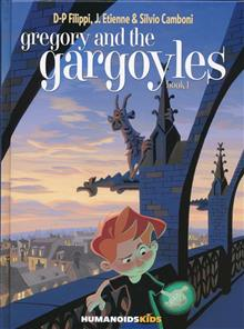 GREGORY AND THE GARGOYLES HC VOL 01 (OF 3)