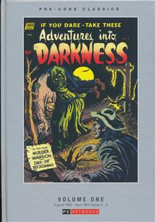 PRE CODE CLASSICS ADVENTURES INTO DARKNESS HC VOL 01