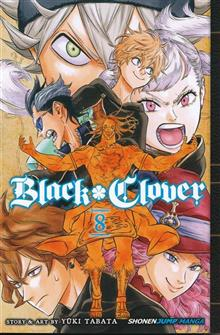 BLACK CLOVER GN VOL 08