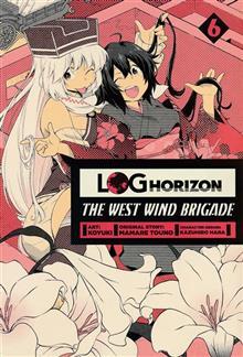LOG HORIZON WEST WIND BRIGADE GN VOL 06