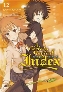 CERTAIN MAGICAL INDEX LIGHT NOVEL SC VOL 12