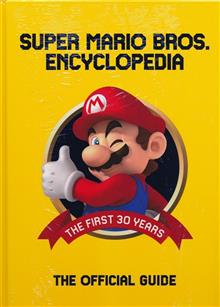 SUPER MARIO ENCYCLOPEDIA HC (FEB188398) (C: 0-1-2)