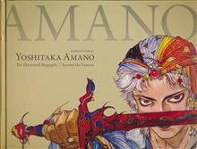 YOSHITAKA AMANO THE ILLUSTRATED BIOGRAPHY HC BEYOND THE FANT