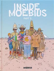MOEBIUS LIBRARY INSIDE MOEBIUS HC VOL 03 (C: 0-1-2)