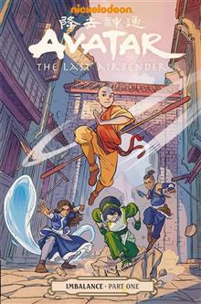 AVATAR THE LAST AIRBENDER IMBALANCE PART ONE TP (C: 1-1-2)