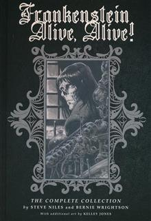 FRANKENSTEIN ALIVE ALIVE HC THE COMPLETE COLLECTION (C: 0-1-