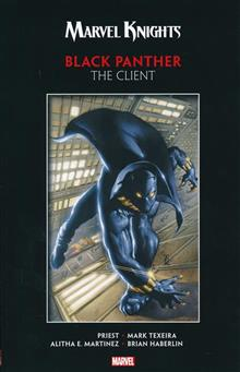 MARVEL KNIGHTS BLACK PANTHER BY PRIEST & TEXEIRA TP CLIENT
