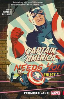 CAPTAIN AMERICA BY MARK WAID TP PROMISED LAND