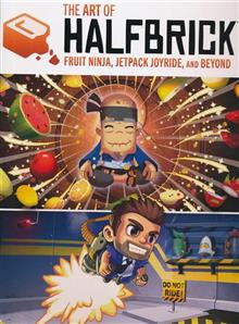 ART OF HALFBRICK FRUIT NINJA JETPACK JOYRIDE & BEYOND HC