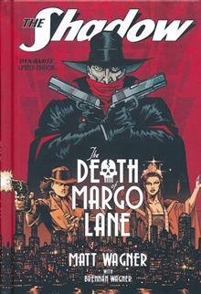 SHADOW DEATH OF MARGO LANE HC LTD ED