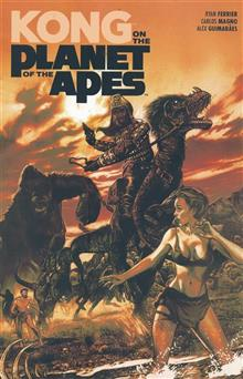 KONG ON PLANET OF APES TP (C: 0-1-2)