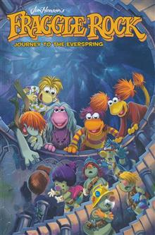 JIM HENSONS FRAGGLE ROCK JOURNEY TO THE EVERSPRING GN (C: 0-1-2)