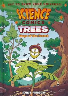 SCIENCE COMICS TREES HC GN