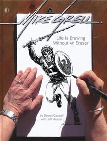 MIKE GRELL LIFE IS DRAWING WITHOUT AN ERASER LTD HC (C: 0-1-