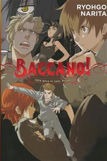 BACCANO LIGHT NOVEL HC VOL 08