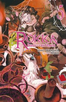ROKKA BRAVES OF SIX FLOWERS LIGHT NOVEL SC VOL 05