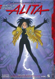 BATTLE ANGEL ALITA DELUXE ED HC VOL 05 (C: 1-1-0)