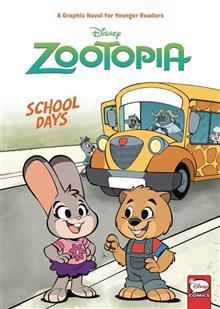 DISNEY ZOOTOPIA SCHOOL DAYS (YA) HC VOL 01