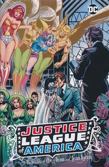 JLA THE WEDDING OF THE ATOM & JEAN LORING HC