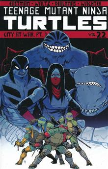 TMNT ONGOING TP VOL 22 CITY AT WAR PT 1