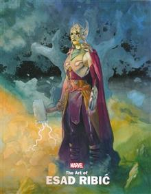 MARVEL MONOGRAPH TP ART OF ESAD RIBIC