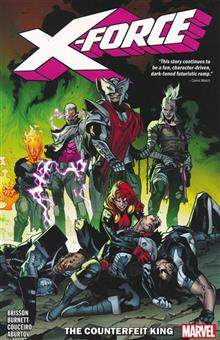 X-FORCE TP VOL 02 COUNTERFEIT KING