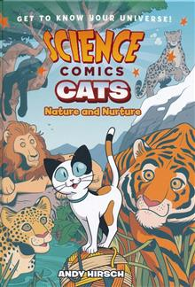 SCIENCE COMICS CATS NATURE & NUTURE HC GN