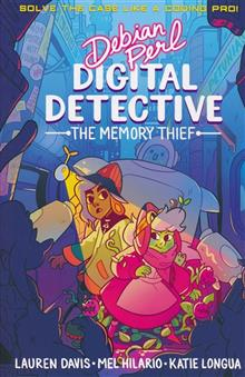 DEBIAN PERL DIGITAL DETECTIVE GN MEMORY THIEF BOOK 01