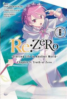 RE ZERO SLIAW CHAPTER 3 TRUTH ZERO GN VOL 08