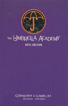 UMBRELLA ACADEMY LIBRARY EDITION HC VOL 03 HOTEL OBLIVION