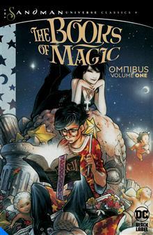 SANDMAN THE BOOK OF MAGIC OMNIBUS HC VOL 01 (MR)