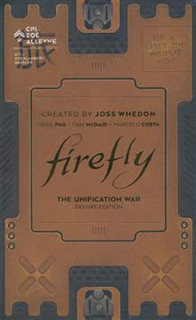 FIREFLY UNIFICATION WAR DLX ED HC