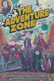 ADVENTURE ZONE GN VOL 03 PETALS TO METAL TP