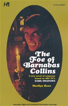 DARK SHADOWS PAPERBACK LIBRARY NOVEL VOL 09 FOE OF BARNABAS