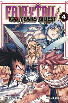FAIRY TAIL 100 YEARS QUEST GN VOL 04 (RES)