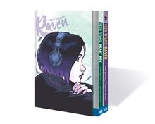 TEEN TITANS RAVEN BEAST BOY BOX SET HC