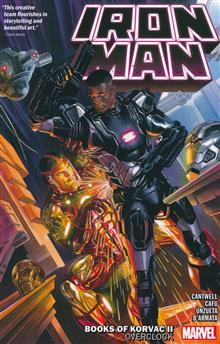 IRON MAN TP VOL 02 BOOKS KORVAC II OVERCLOCK