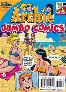 ARCHIE JUMBO COMICS DIGEST #322