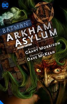 BATMAN ARKHAM ASYLUM THE DELUXE EDITION HC