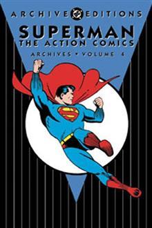 SUPERMAN ACTION COMICS ARCHIVES VOL 4 HC