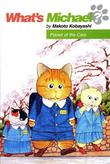 WHATS MICHAEL VOL 11 PLANET OF THE CATS TP