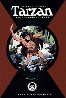 TARZAN THE JOE KUBERT YEARS VOL 3 HC