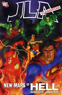JLA CLASSIFIED NEW MAPS OF HELL TP