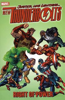 NEW THUNDERBOLTS VOL 3 RIGHT OF POWER TP