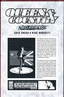 QUEEN & COUNTRY DECLASSIFIED VOL 2 HC (MR)