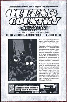 QUEEN & COUNTRY DECLASSIFIED VOL 3 HC (MR)