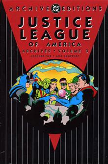 JUSTICE LEAGUE OF AMERICA ARCHIVES VOL 3 HC