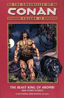CHRONICLES OF CONAN VOL 12 BEAST KING OF ABOMBI TP