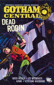GOTHAM CENTRAL VOL 5 DEAD ROBIN TP old printing